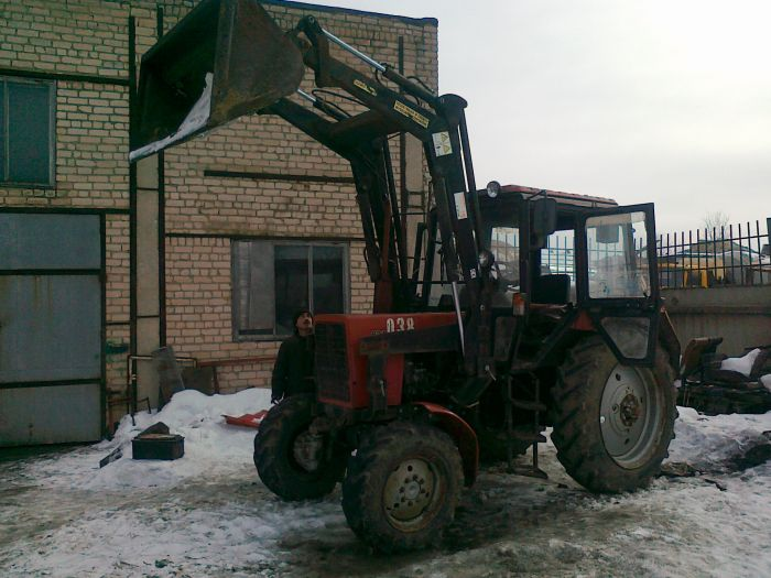 МТЗ-82.1 с куном - agrarnik.ru