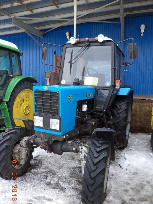 Беларус МТЗ 82 с щеткой и отвалом – купить в Москве, цена.